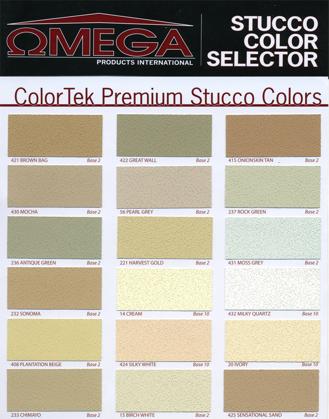 Stucco Colors Ohio State Stucco Residential Stucco